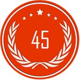 45 место в рейтинге